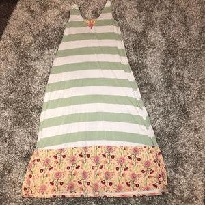 Matilda Jane Seaside Afternoon Maxi Dress Womens L